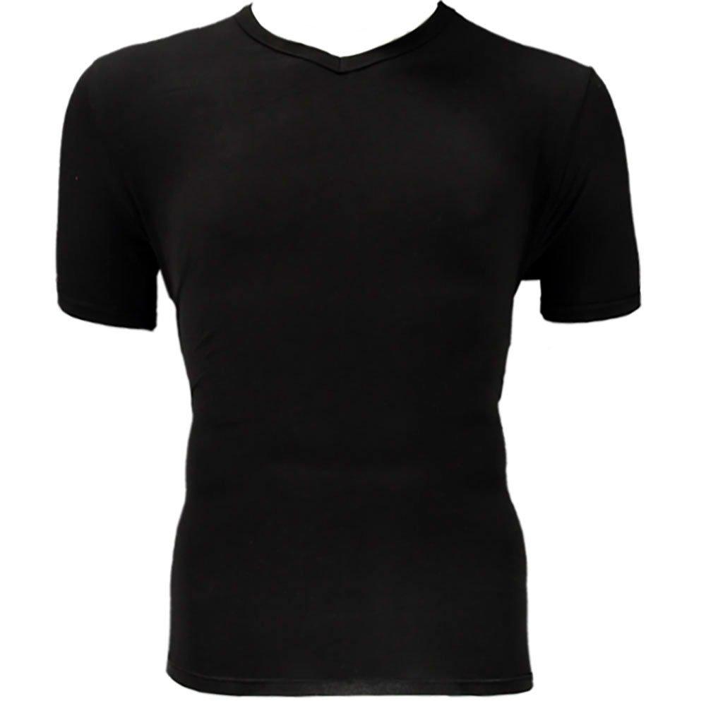 Bambus V-hals T-shirt 2-pak